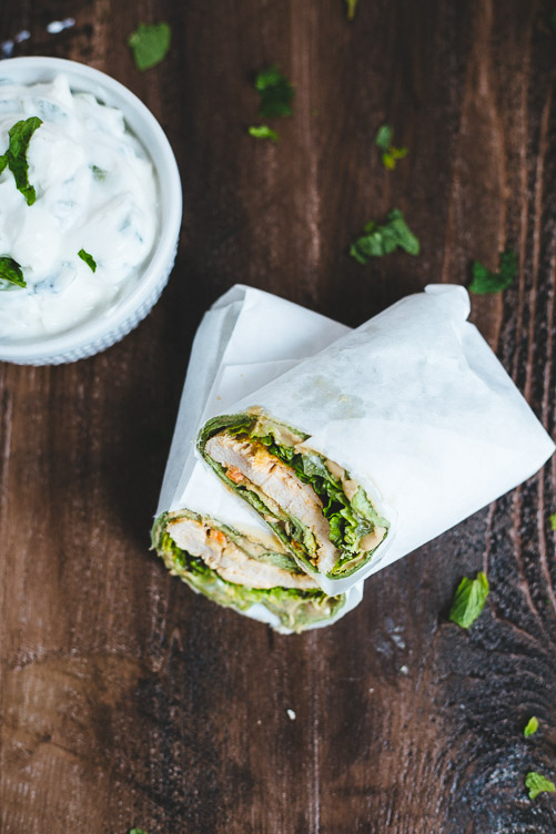 Quick And Easy Chicken Tikka Masala Wraps
