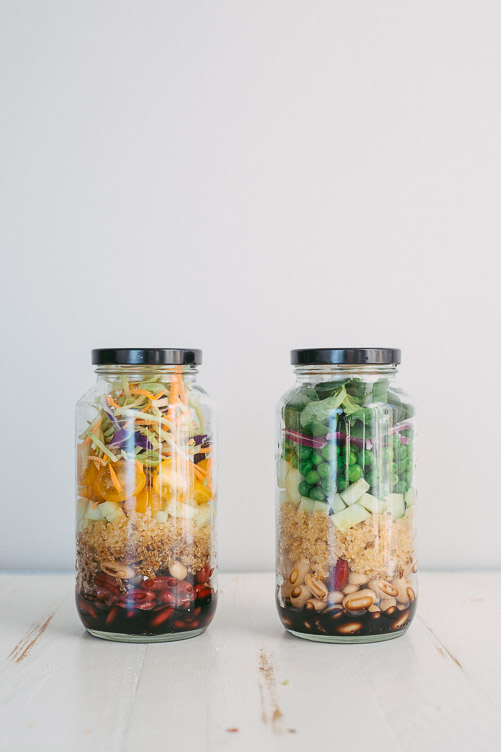 Superfood Mason Jar Salad