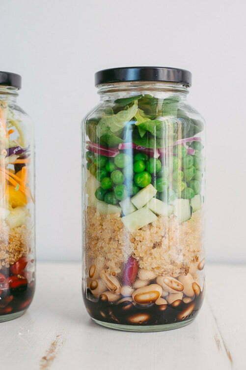 Superfood Mason Jar Salad