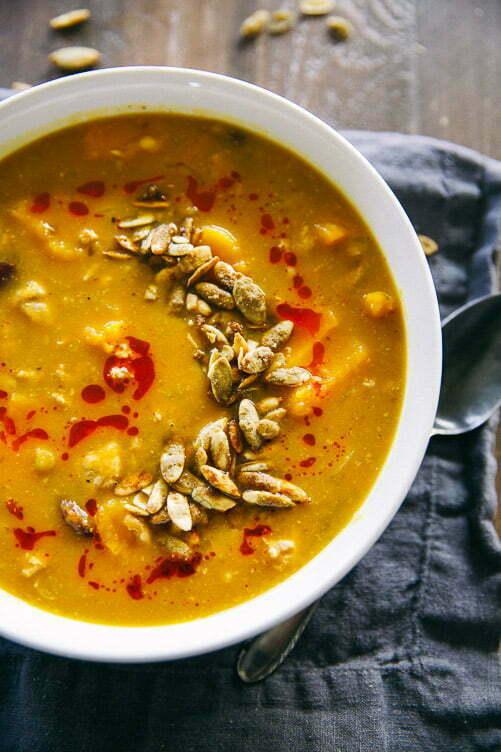 Butternut Squash & Lentil Chili