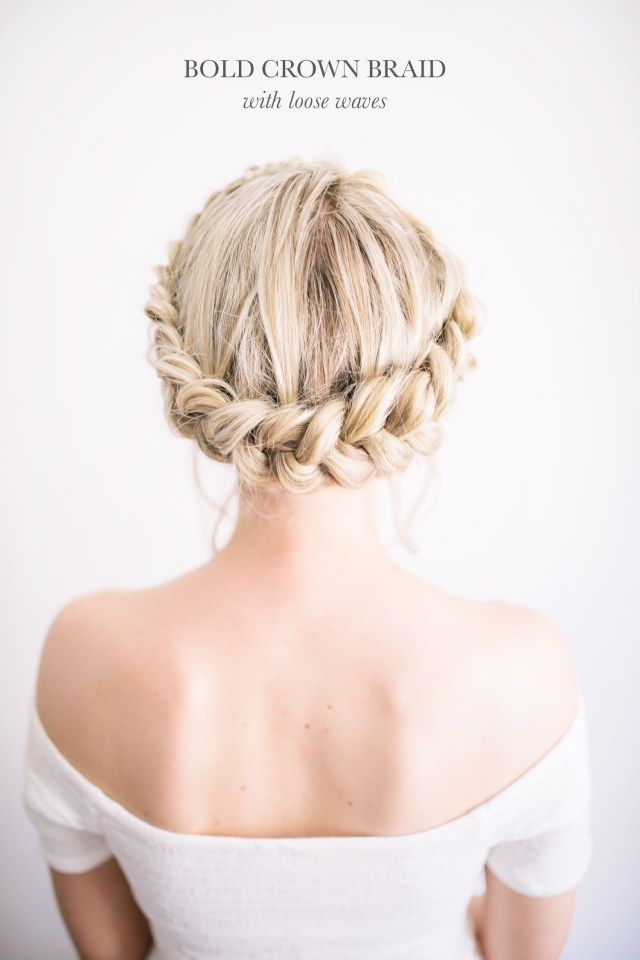diy modern-boho wedding hairstyles | the blondielocks | life