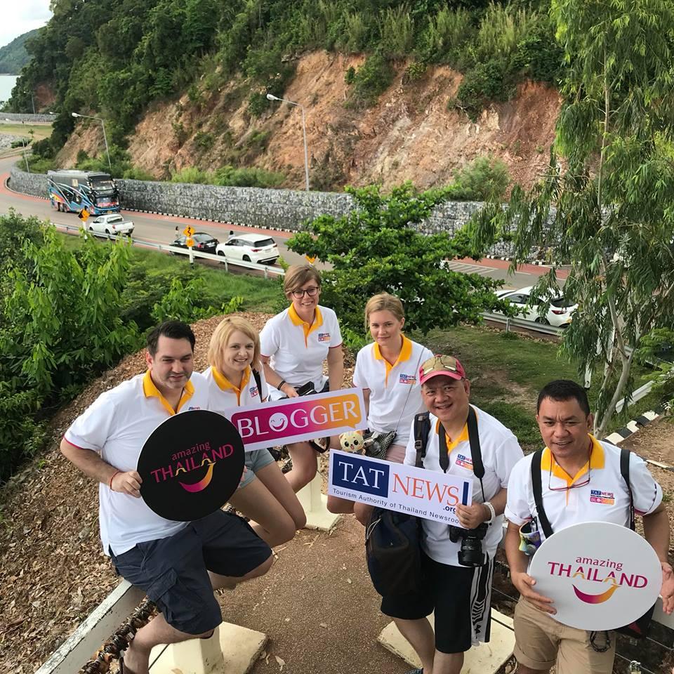 TAT bloggers team in Thailand