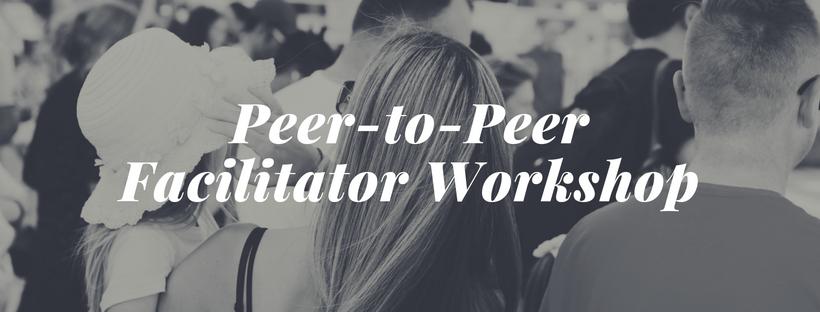 peer to peer facilitator workshop
