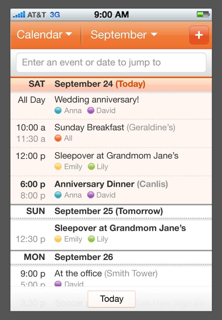 Cozi_Calendar_WeekView_iOS