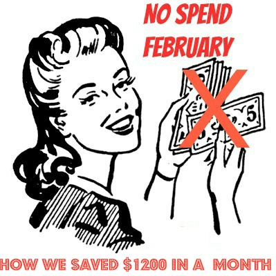 No Spend February The End Results