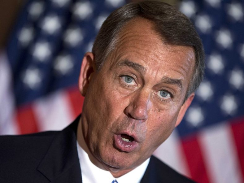 What is John Boehner's real legacy