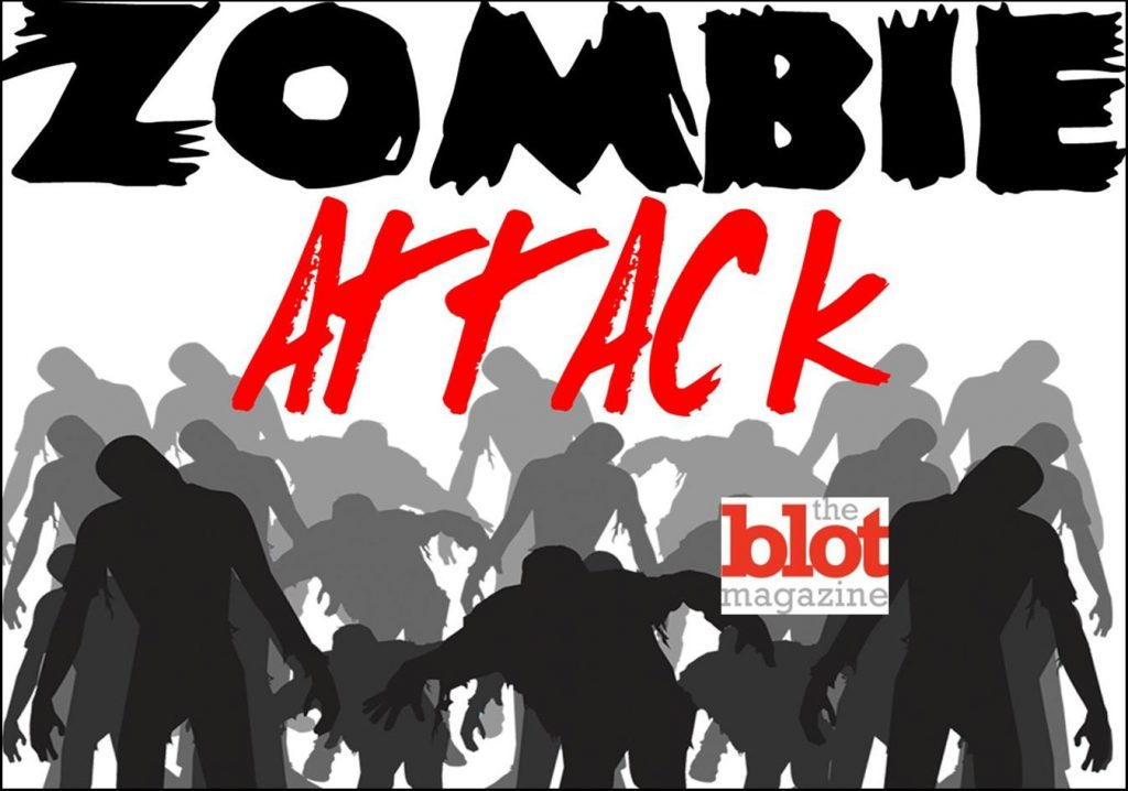 San Diego Mayoral Candidate Gets Attacked by Zombies