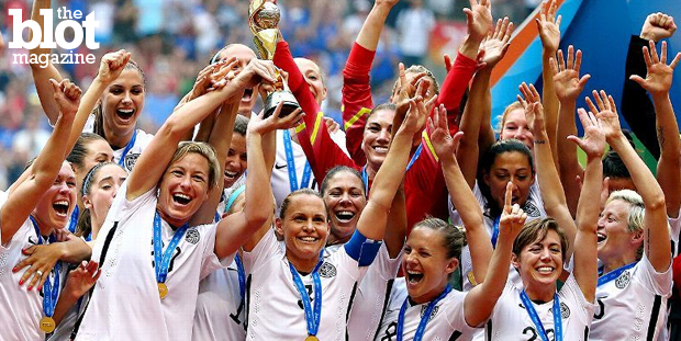 Despite winning the World Cup for the third time, the U.S. women's soccer team's prize money is paltry compared to what the men's team gets — every time they lose (which is a lot). (espn.go.com photo)