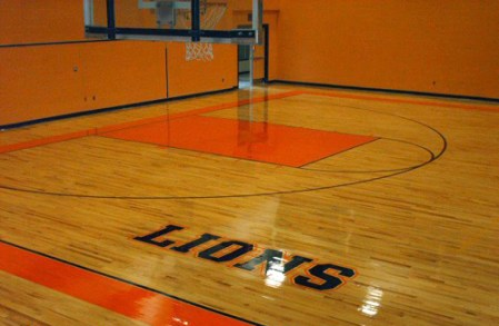 Gorsegner Brothers   Holmdel  New Jersey   ProView     Gym Floor After   Gorsegner Brothers