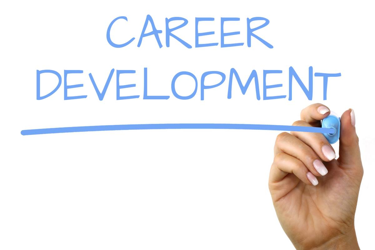 Career Development - Handwriting image