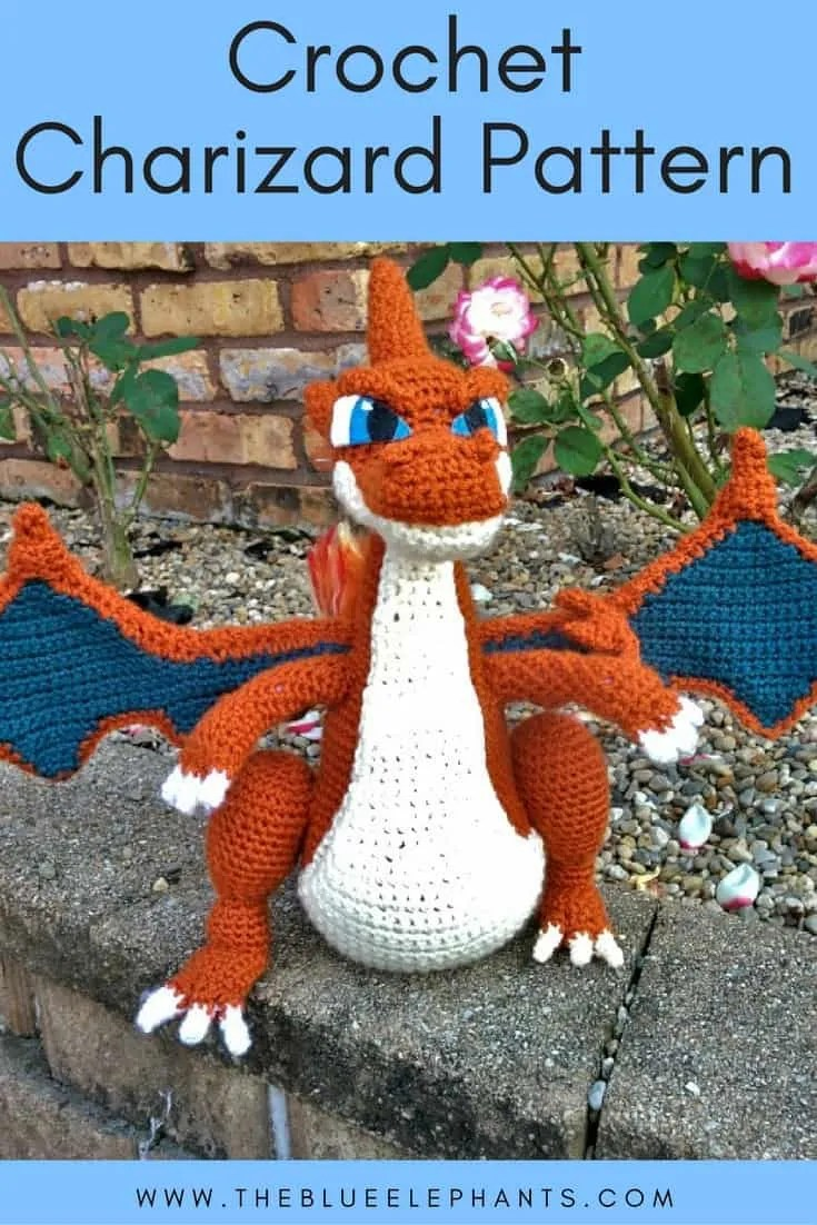 crochet charizard pattern
