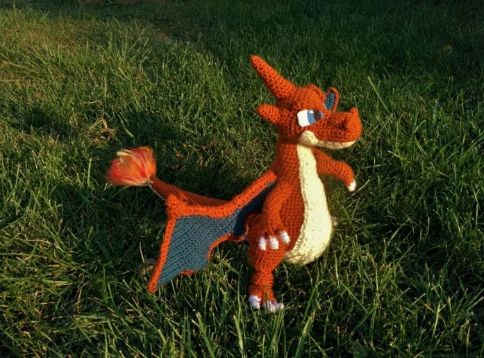 crochet-charizard