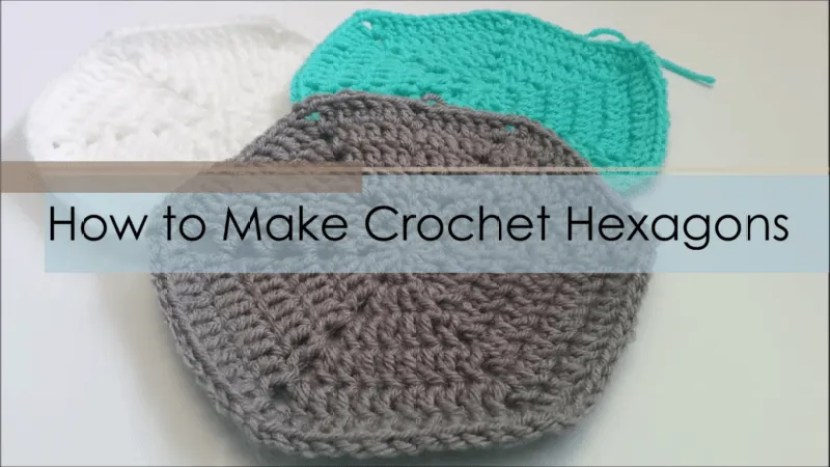 how-to crochet hexagons
