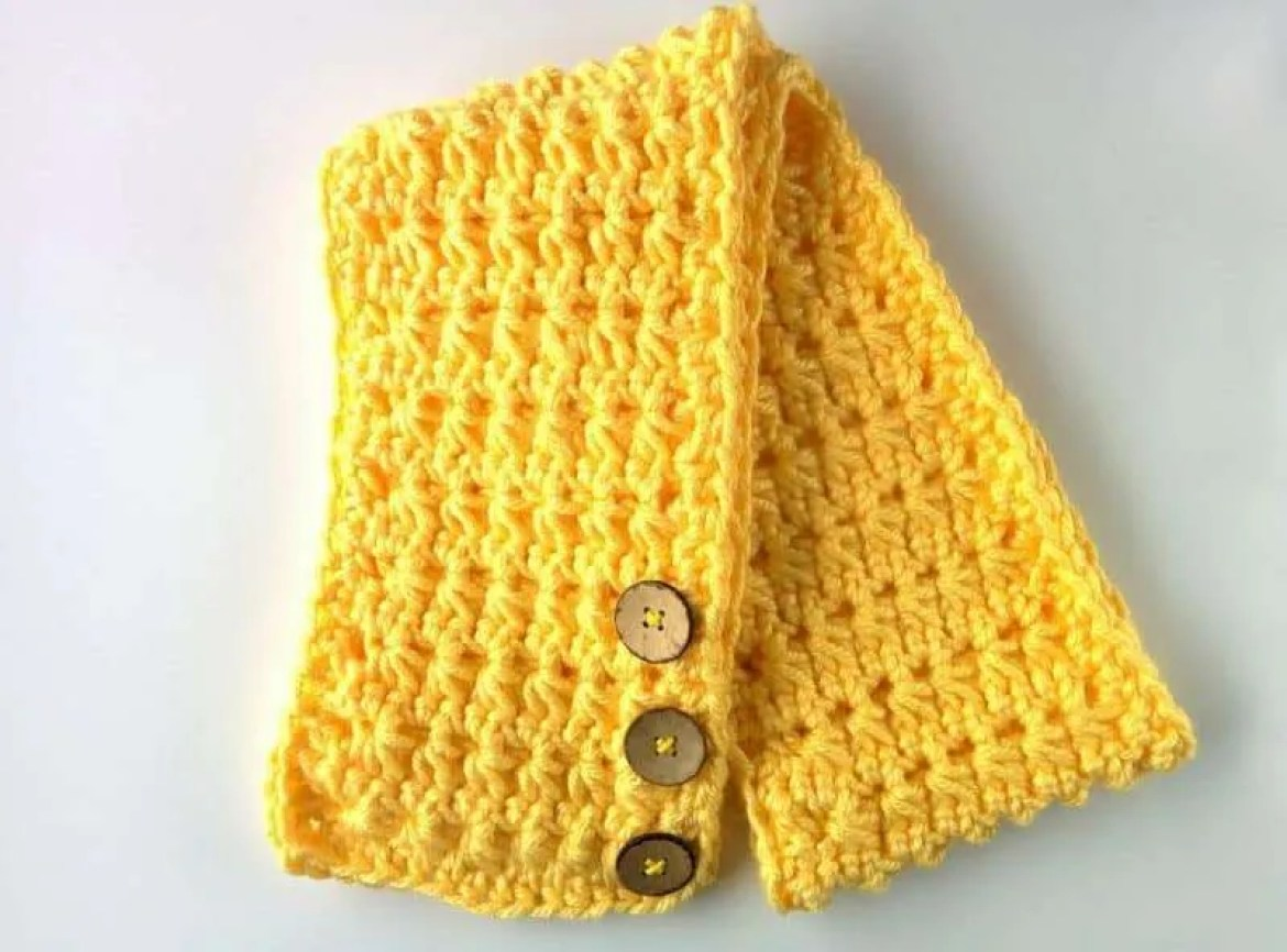 The lemonade scarf free crochet scarf pattern i did explain the stitch below but if youd like a full tutorial and video if just the star stitch click here baditri Images