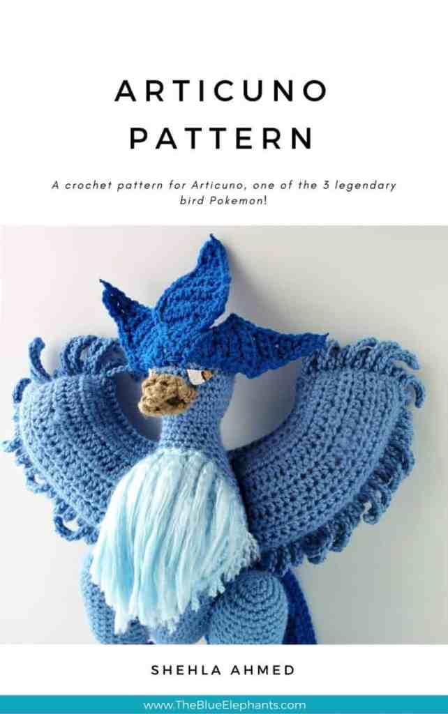 Crochet Articuno Pokmon Pattern