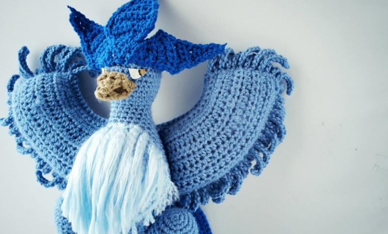 Crochet Articuno Pokèmon Pattern!