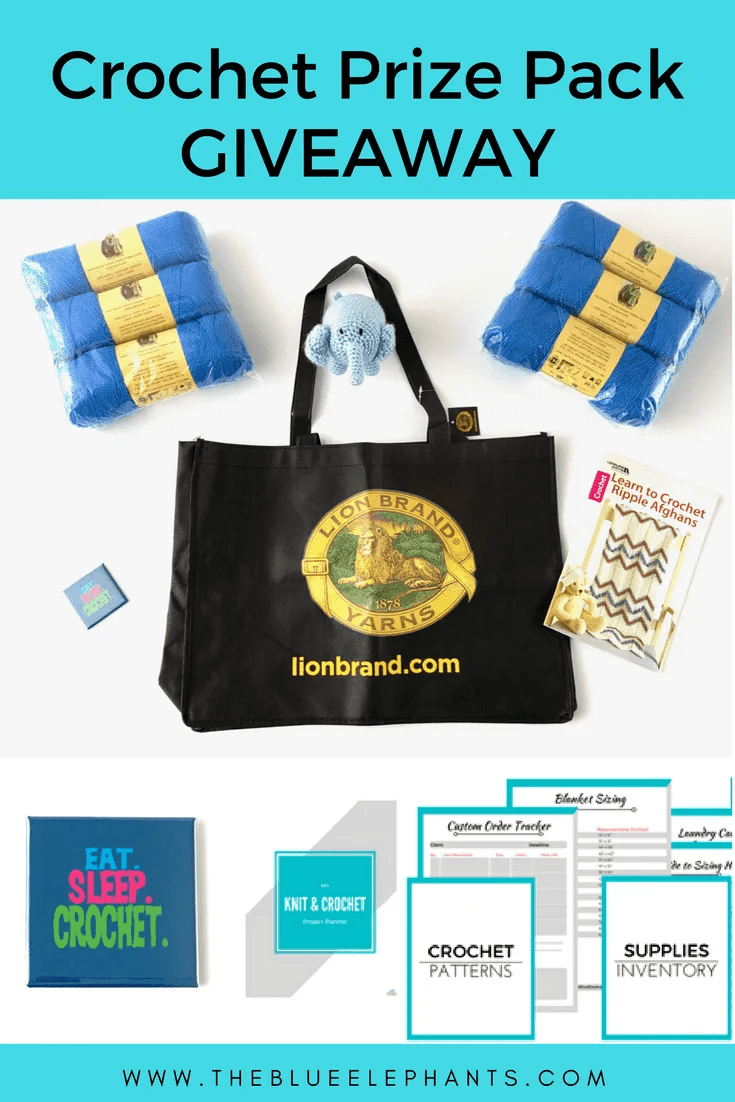 crochet prize pack giveaway