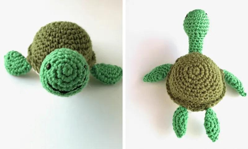 Amigurumi Turtle Pattern : Shelby the crochet turtle pattern