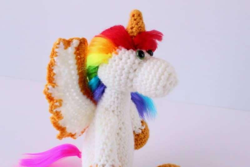 Free Amigurumi Unicorn Pattern : Crochet patterns by yarnblossomboutique on etsy