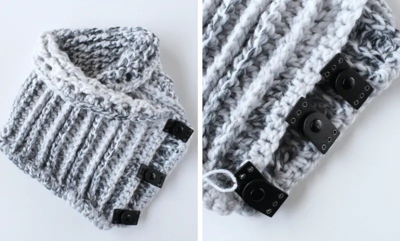 Stormborn Cowl An Easy Leather Crochet Cowl Pattern