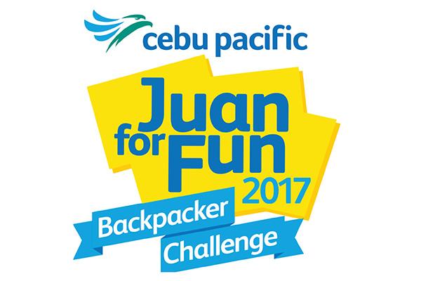 Cebu Pacific's Juan For Fun Backpacker Challenge 2017