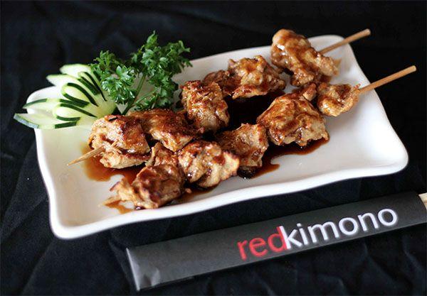 Vegetarian Selections At Red Kimono