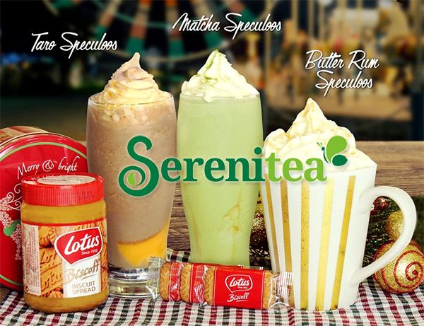 Quench Your Thirst With Serenitea's Lotus Biscoff Speculoos Coolers