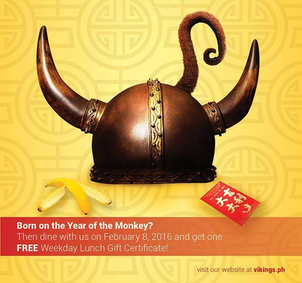 Vikings Bacolod Chinese New Year 2016 Promo
