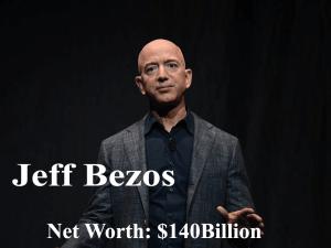 Jeff bezos with net worth