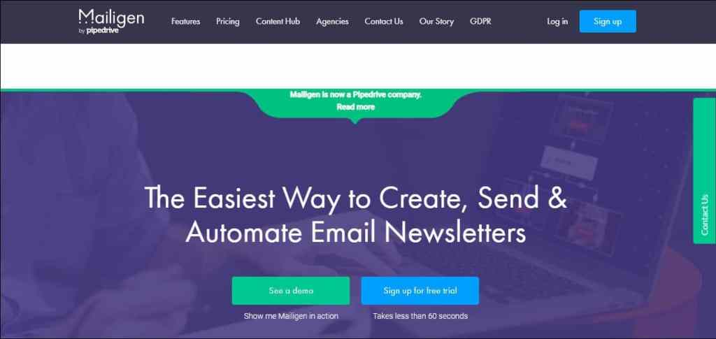 Email Marketing Tool Mailigen Dashboard min