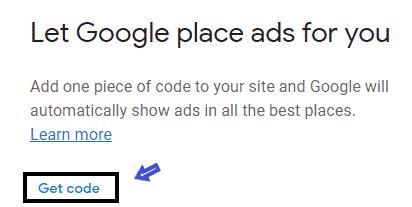 auto ads code