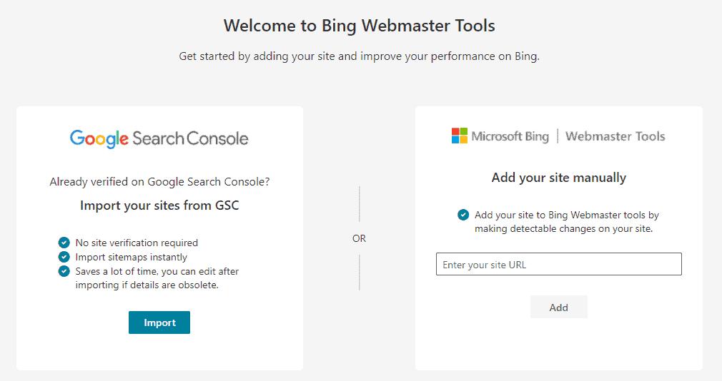 Bing Websmaster setup 1 - %title%- The Blue Oceans Group