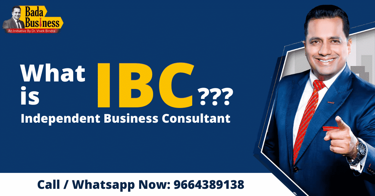 What is IBC Bada Business by Dr Vivek Bindra?