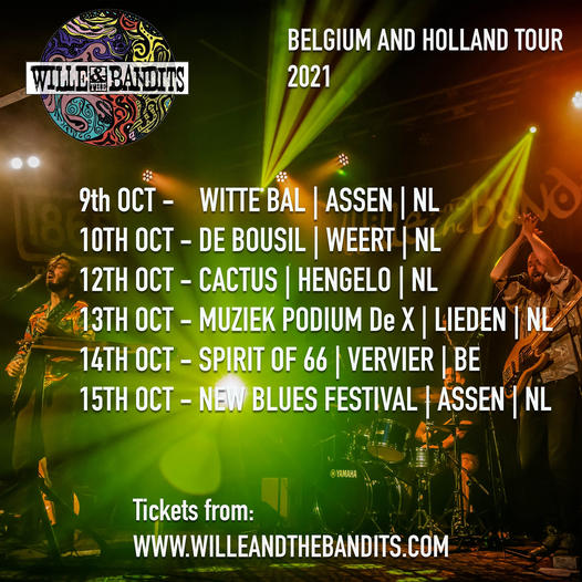 Wille Bandits tour poster