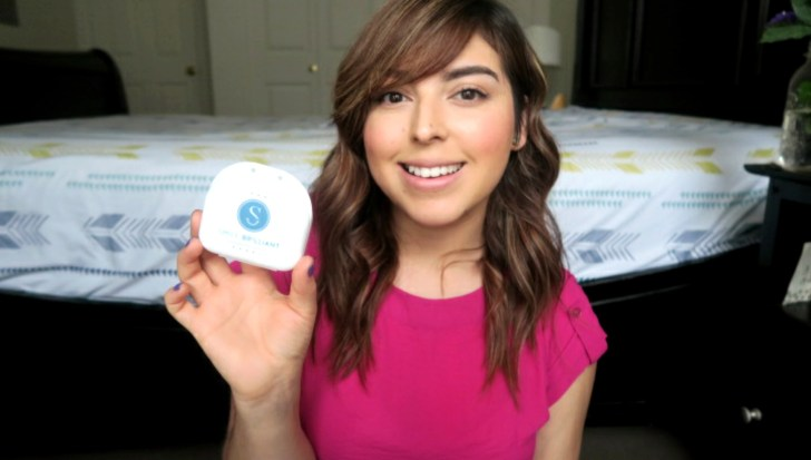 Teeth Whitening Before & After | Giveaway by Smile Brilliant!
