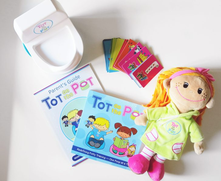 Potty Training With Tot on the Pot!