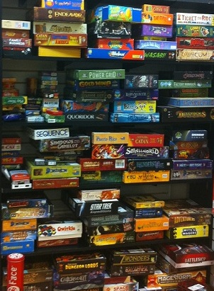Image result for board game closet