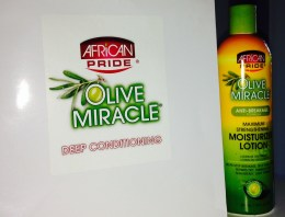 African Pride Olive Miracle Moisturizer Lotion [REVIEW]