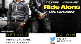 Kevin Hart and Ice Cube's Ride Along DVD Giveaway