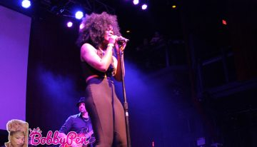 Ari Lennon performing during Black Alley's show at The Fillmore Silver Spring.