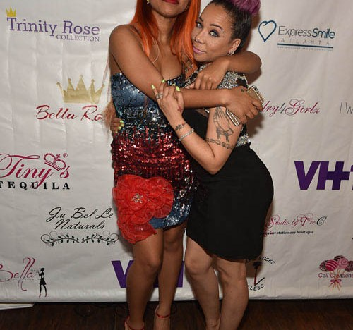 Zonnique Pullins, Tiny's oldest child, attended the mother's day brunch. Zonnique, formerly of girl group OMG Girlz, recently launched her solo career.