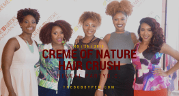 Creme of Nature Hair Color Crush Reveal DC Recap [VIDEO]