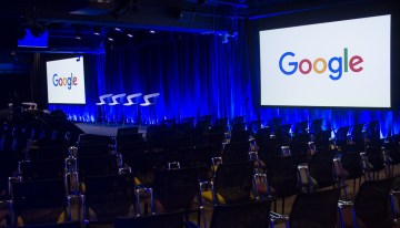 "Atmosphere at Google New York for ""A Seat at the Table: Inclusion and Innovation in Technology & Society""Photo by Bernard Smalls"