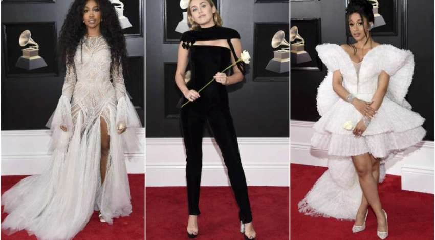 60th Annual GRAMMYs Red Carpet Looks 2018