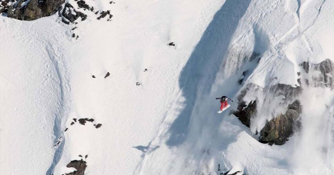 Annie boulanger snowboarding