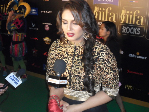 The Glamorous Stars on THE IIFA ROCKS Green Carpet