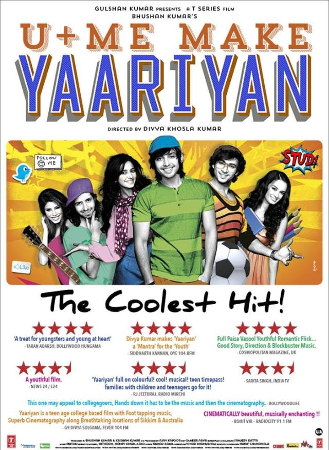 Yaariyan : contemporary ,youthful yet soulfully gripping!