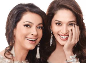 Madhuri Dixit & Juhi Chawla's exquisite shoot for Filmfare Magazine!