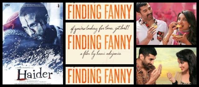 Finding Fanny | Haider | Daawat-e-Ishq – triple the treat trailer week!