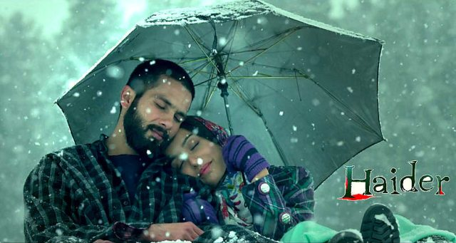 Haider : A dark & intriguing tale of passion set in Kashmir!